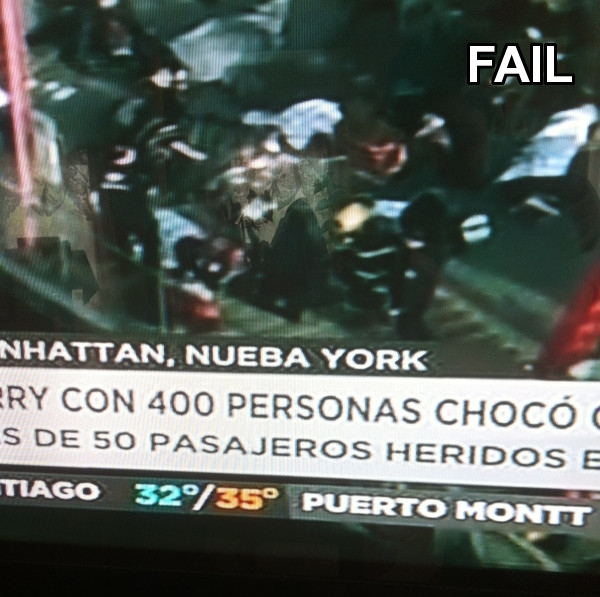 TVN Nueba York FAIL